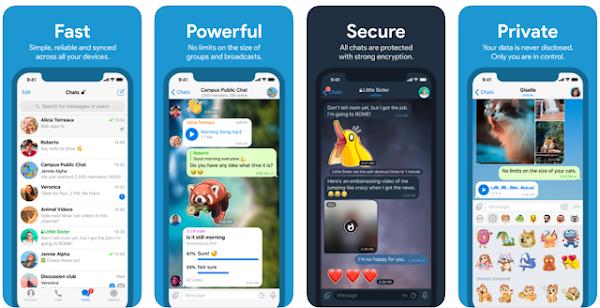 Processo contra a Apple para remover Telegram da Store