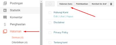 Pergi ke Halaman Pembuatan Sitemap SEO Blogger