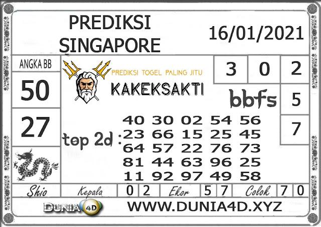 Prediksi Togel SINGAPORE DUNIA4D 17 JANUARI 2021