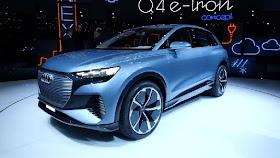 MAGAZIN CAR DESIGNS: IN THE FUTURE AUDI FOR NEW AUDI Q4 IN THE 2020