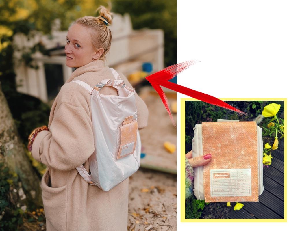 Aus Klein mach Groß - Rucksack oder Tasche, sie dabei zu haben ist alles.
