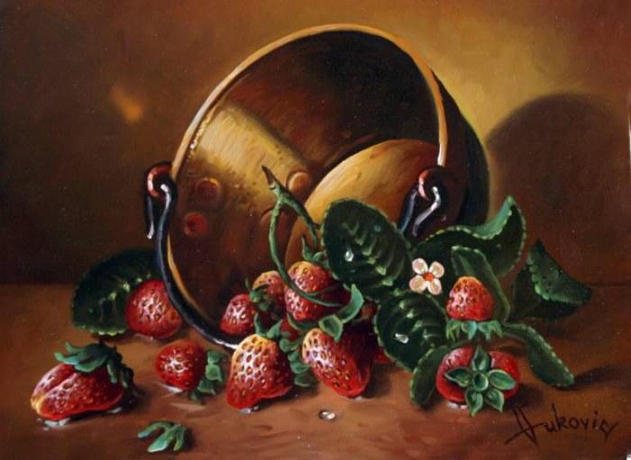 Боснийский художник. Dusan Vukovic