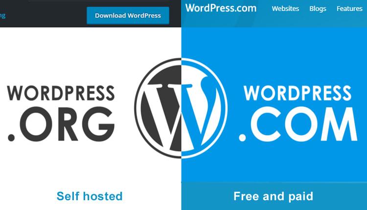 WordPress.com vs WordPress.org - Blog ke liye kon better he