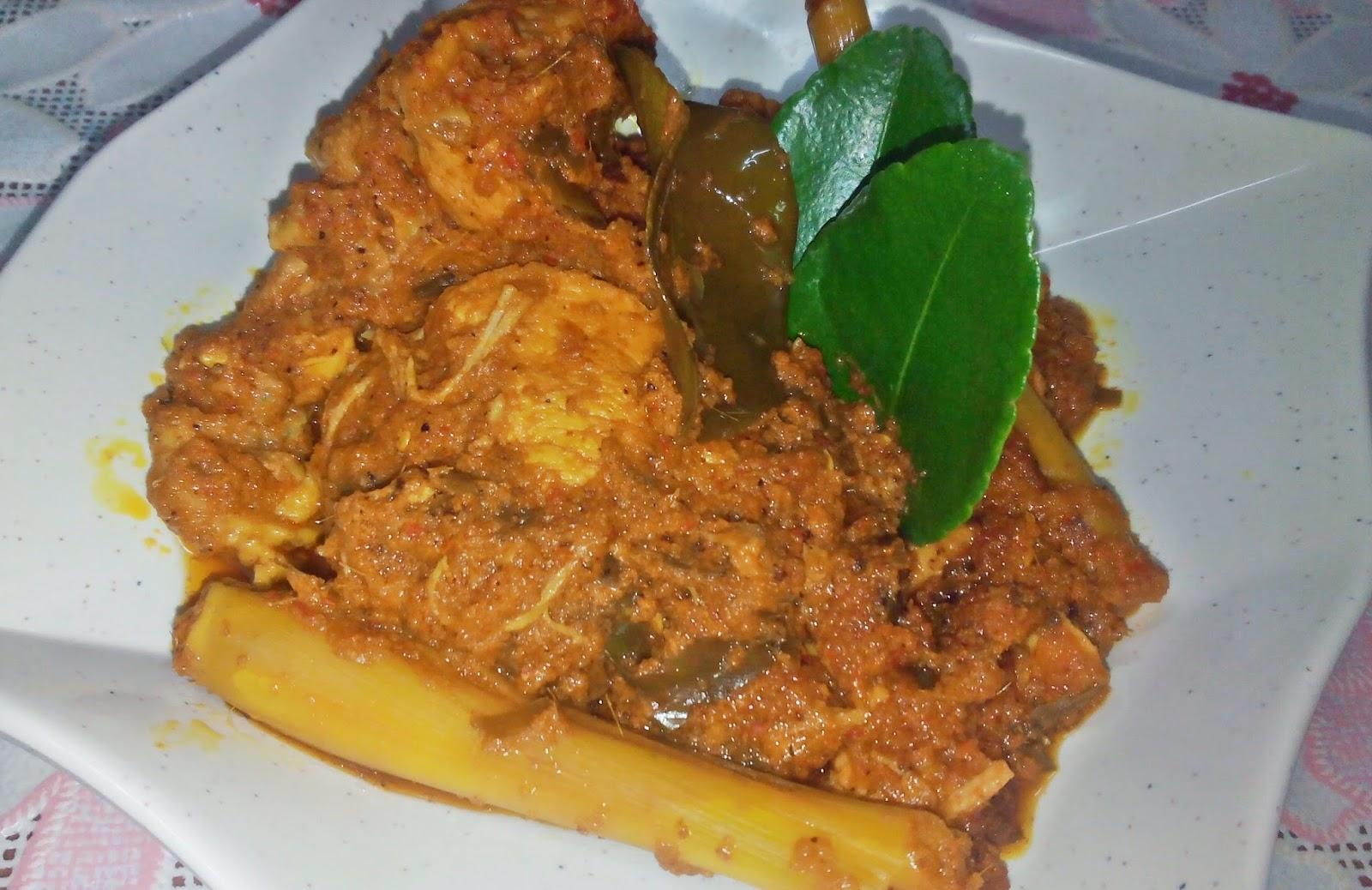 Sajian Dapur Bonda Rendang Pedas Ayam 8 Minit Dengan Periuk Noa