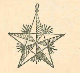 новогодняя звезда из бумаги