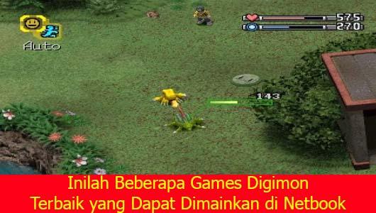 Inilah Beberapa Games Digimon Terbaik yang Dapat Dimainkan di Netbook