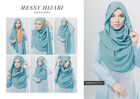 foto tutorial hijab style 4