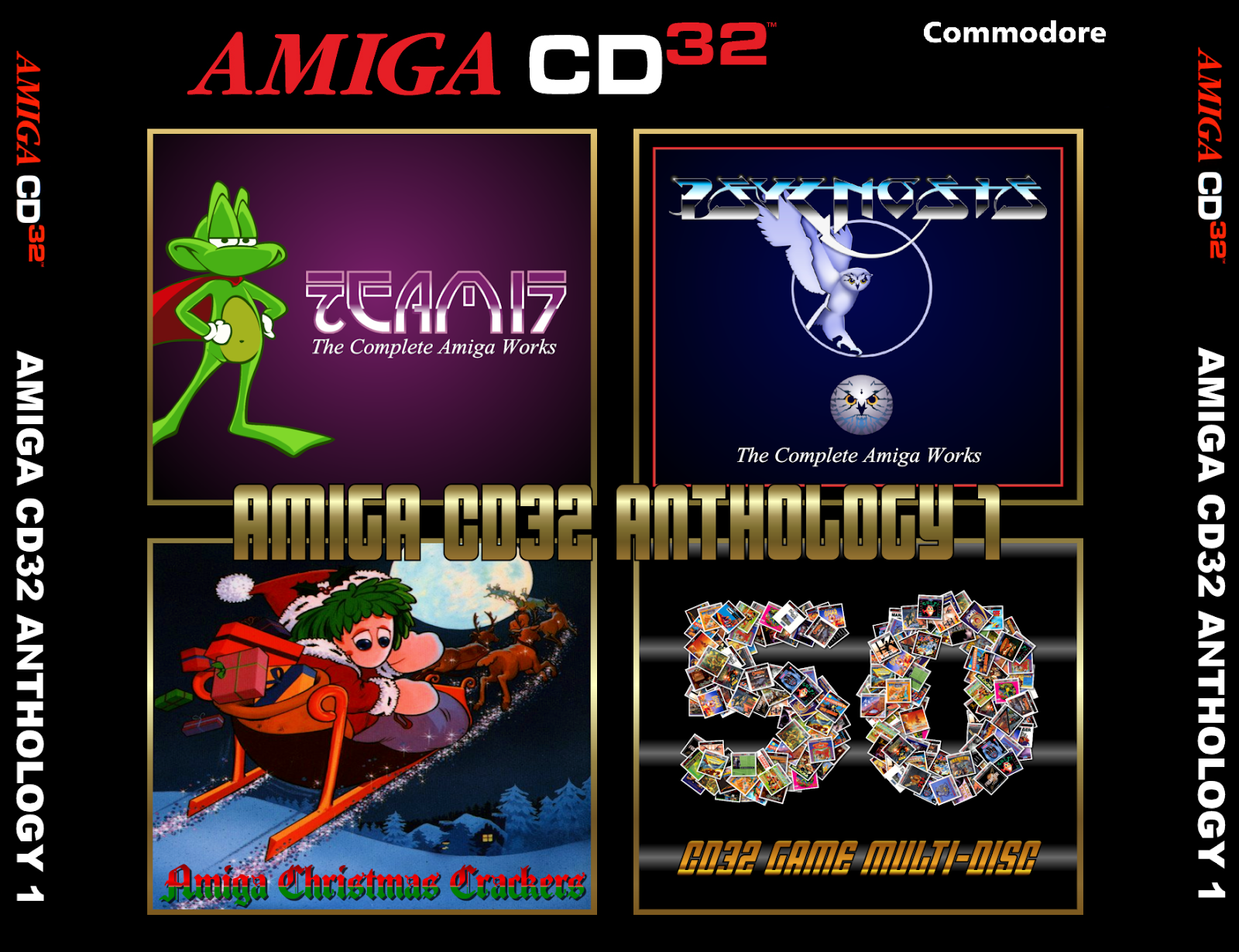 Indie Retro News: Amiga CD32 Anthology Set 1 - The first of Amiga