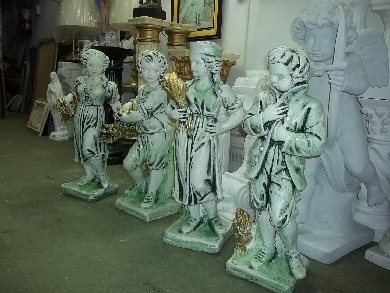 Artecor decoracion pedestales estatuas y columnas patinadas Estatuas decoracion