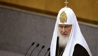 Moscow Patriarch Kirill accused Ukraine of impiety
