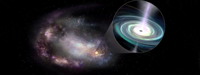 buracos negros supermassivos perdidos vagando