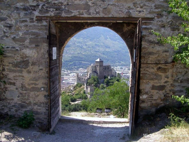 Castillo de Sion, suiza