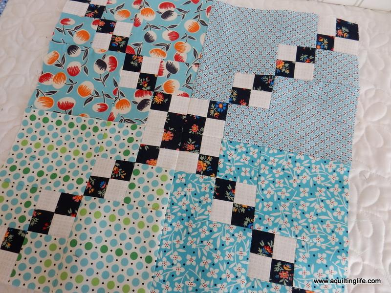 Scrap Quilt Block | Happy Trails