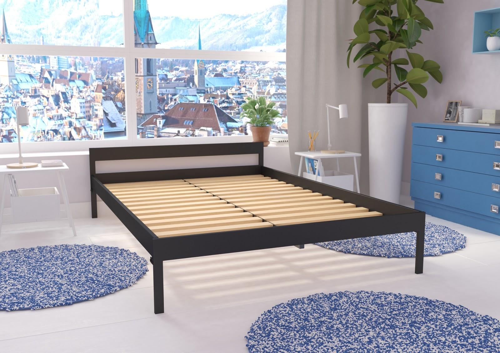 Łóżko metalowe wzór 1
