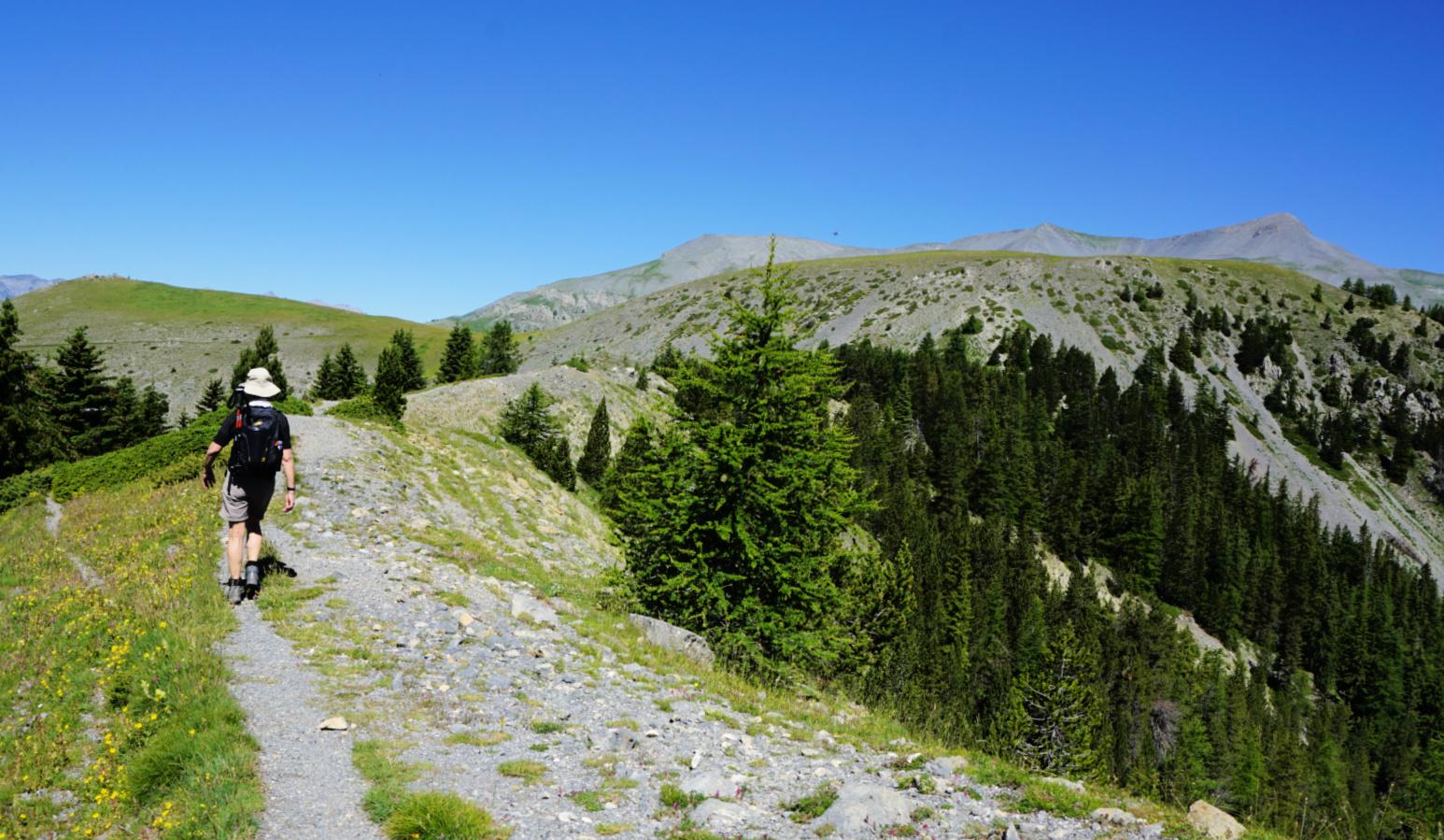 Ridge towards Sommet du Countent