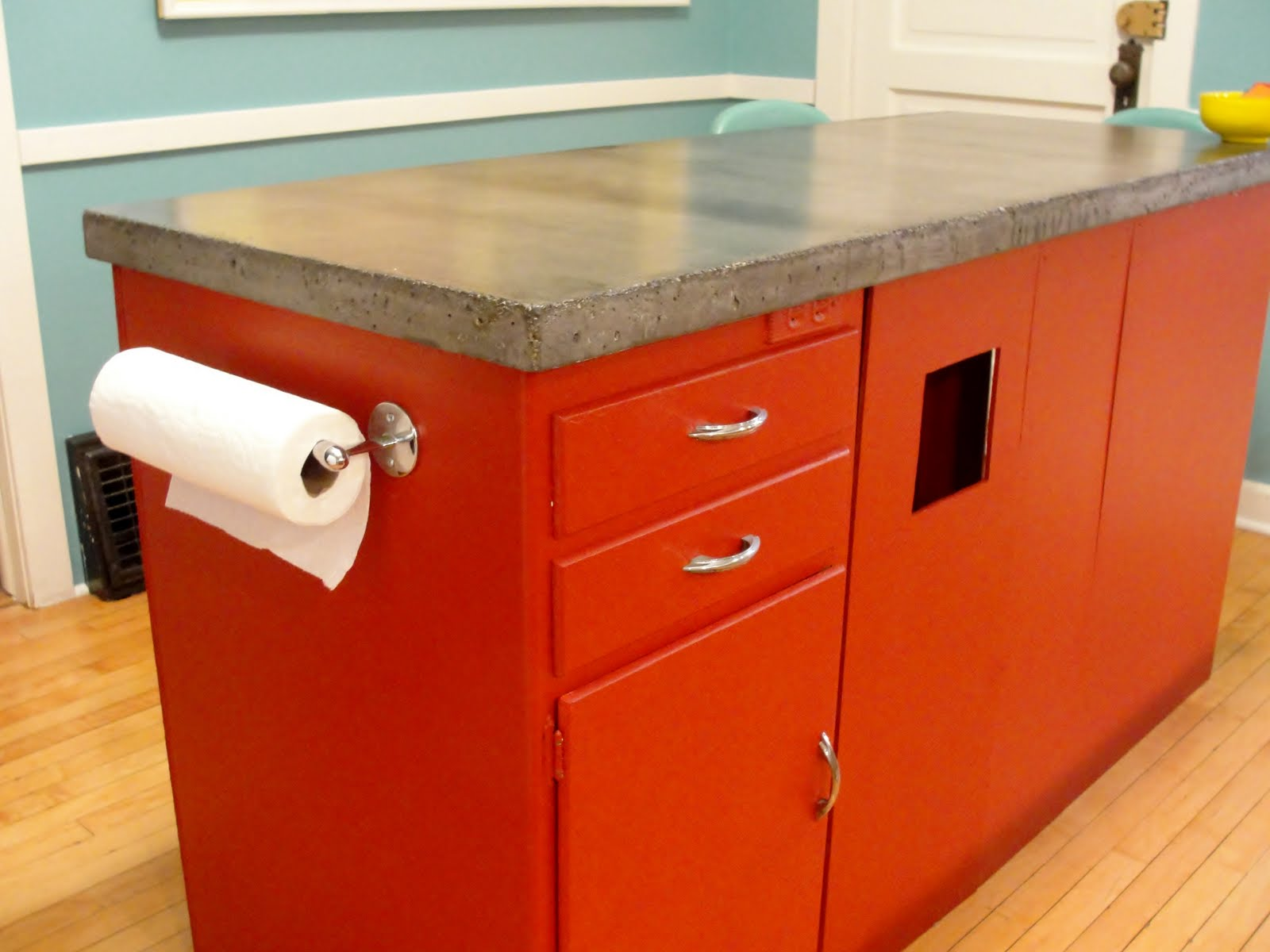 Apartment 528 The Ultimate Weekender Diy Concrete Countertops