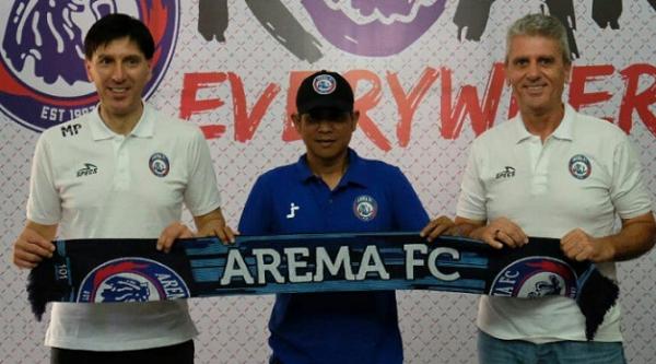 Arema FC Tunjuk Pelatih Asing Asal Slovenia