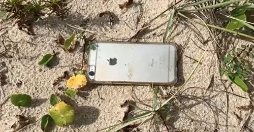 Apple iPhone 6s survived even after falling from the plane, camera was on, the whole incident was recorded