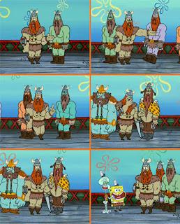 Polosan meme spongebob dan patrick 116 - olaf olaf olaf gordon