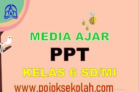 Media Pembelajaran Power Point (PPT) Kelas 6 SD/MI Kurikulum 2013