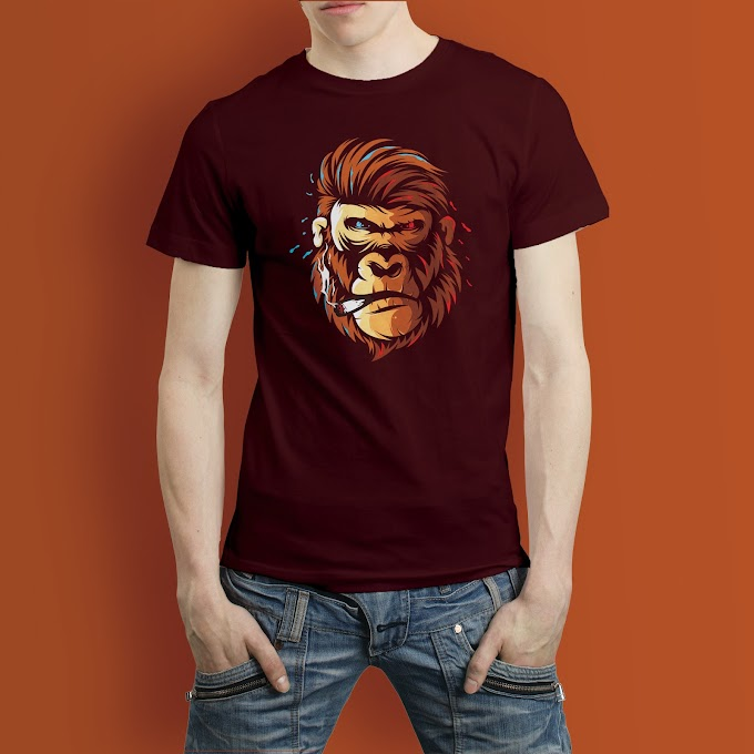 Mr. Kong T shirt Design