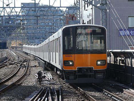 【ダイヤ改正で日中廃止!】各停 渋谷行き2 東武50050系