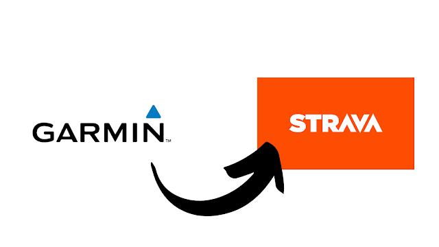 Sincronizar Garmin manualmente com Strava