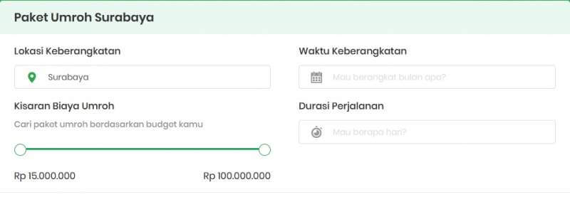 Umroh Surabaya 2020