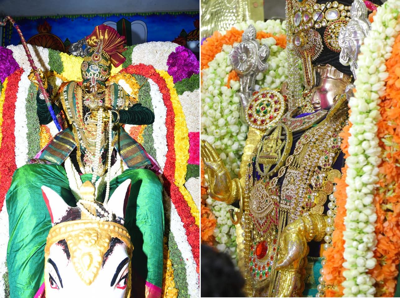 శ్రీ ఖాద్రీ లక్ష్మీ నారసింహుడి ఉత్సవ మూర్తి