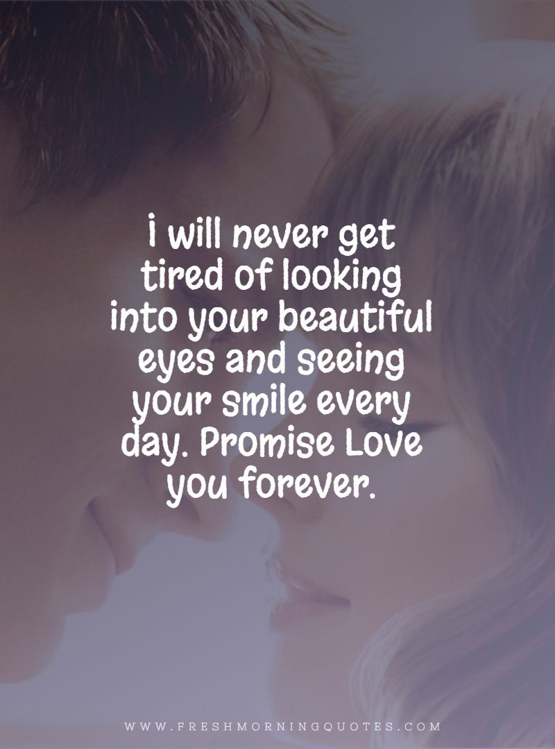 60+ Beautiful Love Promise Quotes for Your Sweetheart