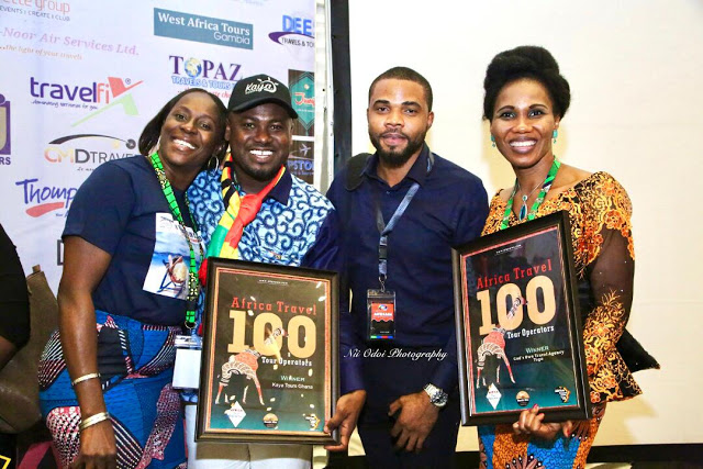 Photos: Six Ghanaian Tour Companies Wins Africa's Biggest Operator's Award In Nigeria