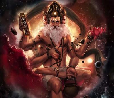 Hindu God Brahma angry avatar image