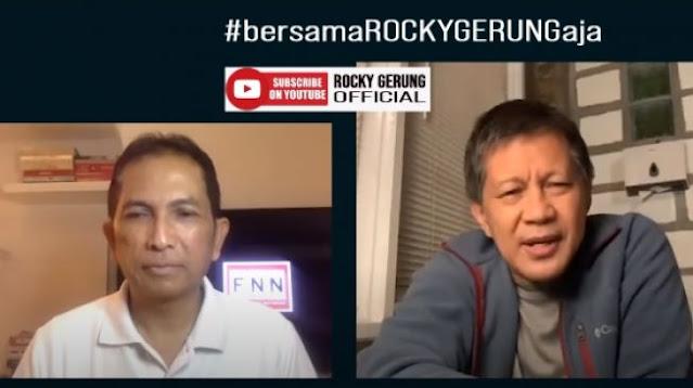 Polres Ciamis Digeruduk Massa, Rocky Gerung: Melemahnya Kepercayaan Publik