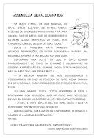 Texto e Atividade Assembleia Geral Dos Ratos (Fábula) PDF Grátis