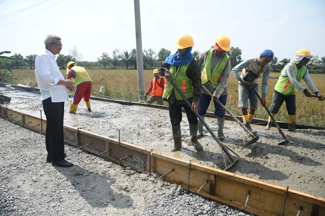 Wagub Ingatkan Kontraktor, Kedepankan Kualitas Pengerjaan Jalan