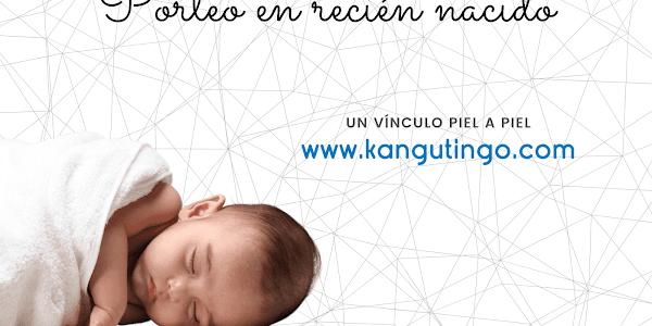 Porteo en recién nacido