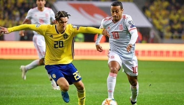 موعد مباراة اسبانيا والسويد في كأس الامم الاوروبيه