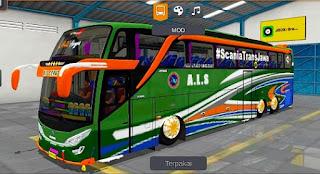 Bus ALS Scania