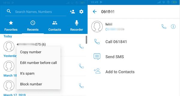 برنامج معرفة اسم المتصل من خلال الرقم
