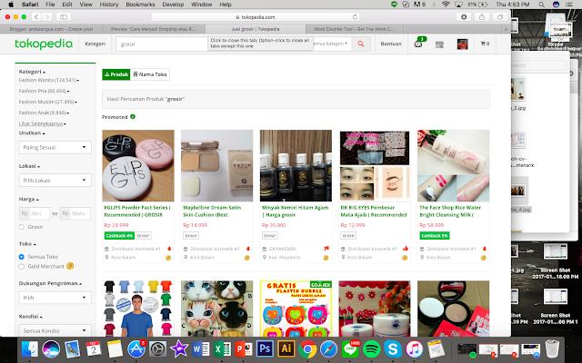 mencari supplier di toko online