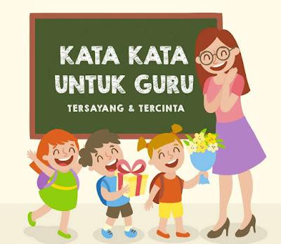 kata kata untuk guru