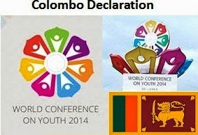 Colombo Declaration WCY2014 Sri Lanka