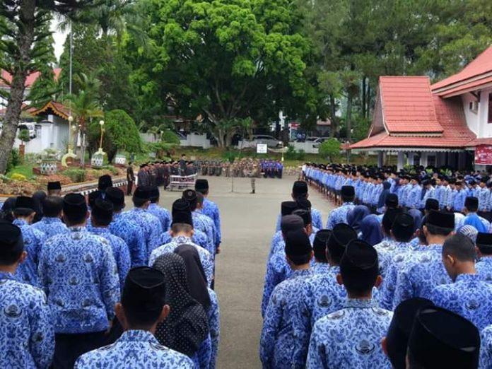 Bupati Kerinci Adirozal Pimpin Upacara Peringatan Hari Lahir Pancasila
