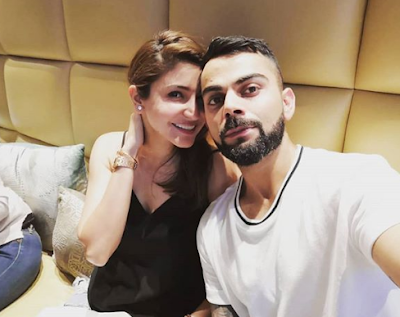 Anushka Sharma spent a special moment with husband Virat Kohli in the in-laws house