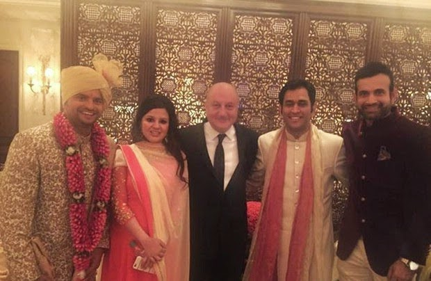 Suresh Raina Wedding Reception Photo