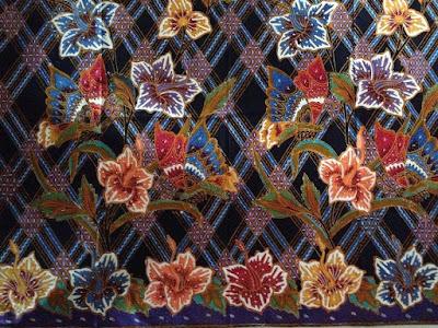 Gambar baju batik wanita