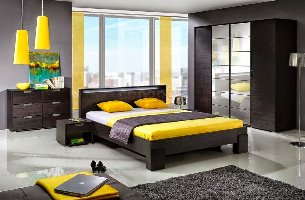 comment d corer chambre coucher. Black Bedroom Furniture Sets. Home Design Ideas