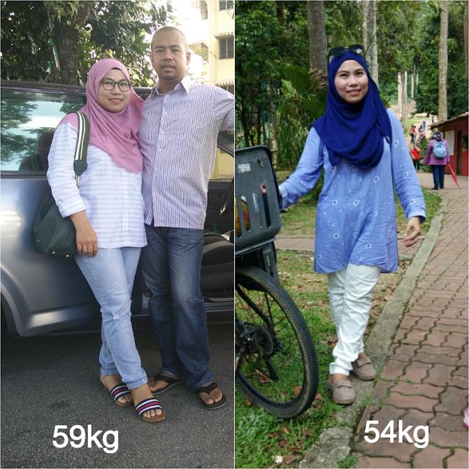 Taknak kurus. nak berat badan geli-geli