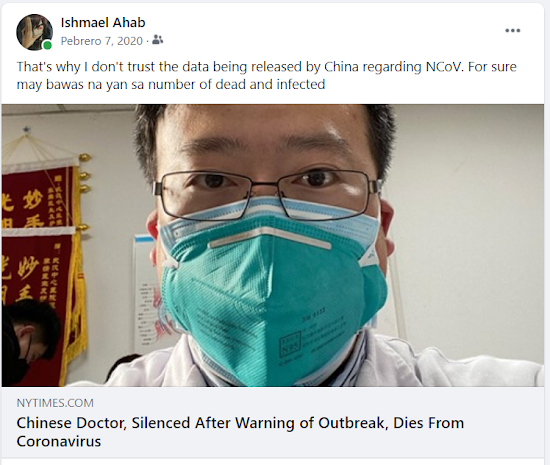 Chinese Doctor Imprisoned by China