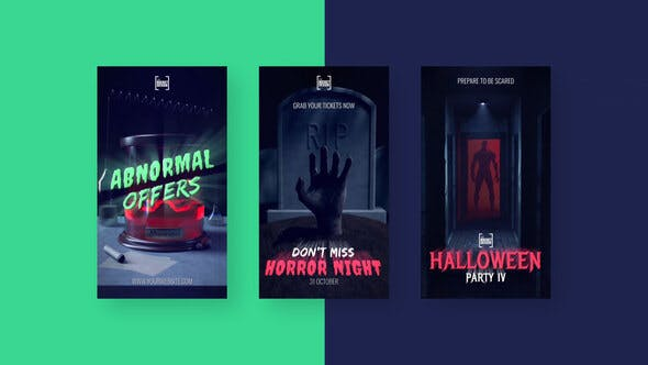 Videohive - Halloween Scary Stories Vol. 2 - 28863145
